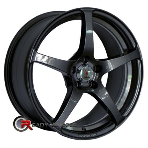 VELOCITY VW225 Black Gloss 5-Spoke 17 5x100