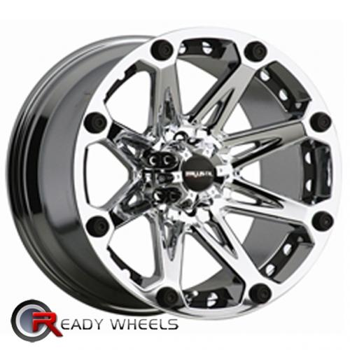 DIP D10 Silver Gloss 5-Spoke Split 17x7.5 - 6x114 Wheels - Rims