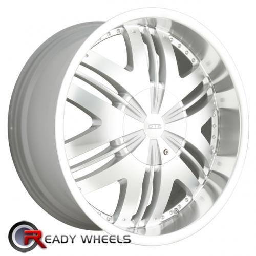 DIP WICKED D39  Chrome 6-Spoke 22x9.5 - 6x135 Wheels - Rims