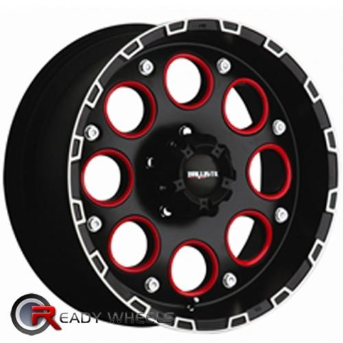 MAZZI HULK 755  Chrome Off Road 18x10 - 6x135 Wheels - Rims + Delinte D7 225/40/18