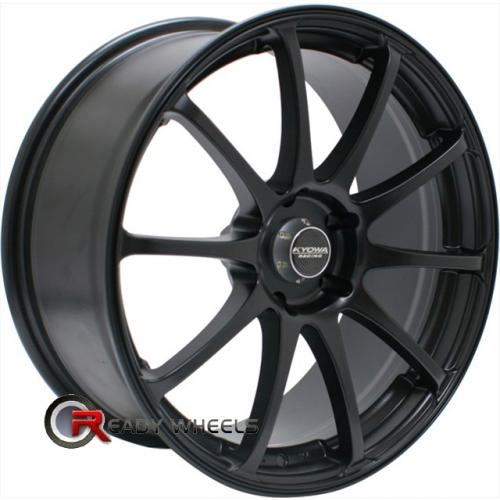 TOUREN TR3 3130  Machined w/ Black Multi-Spoke 18x8 - 5x100 Wheels - Rims + Delinte D7 225/40/18