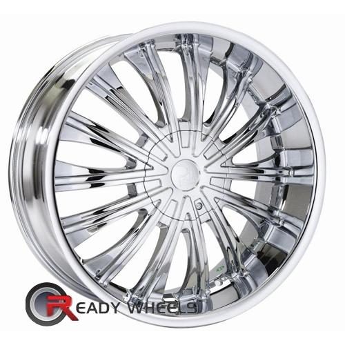 Polo Vulcan T935 Chrome Multi-Spoke 20 5x110