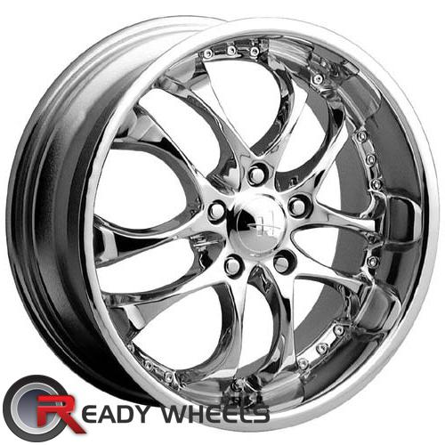 HELO He825 Chrome 5-Spoke Split 38 15 4x100