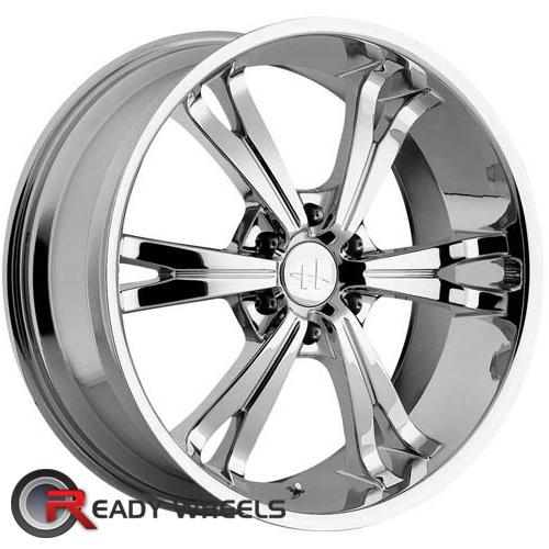 HELO He831 Chrome 6-Spoke 30 20 6x114