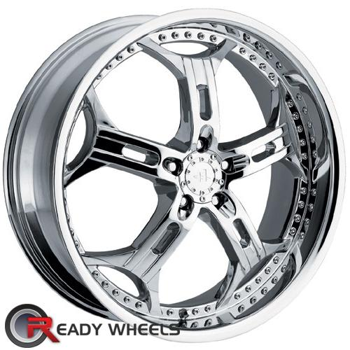 HELO He834 Chrome 5-Spoke 42 18 5x112