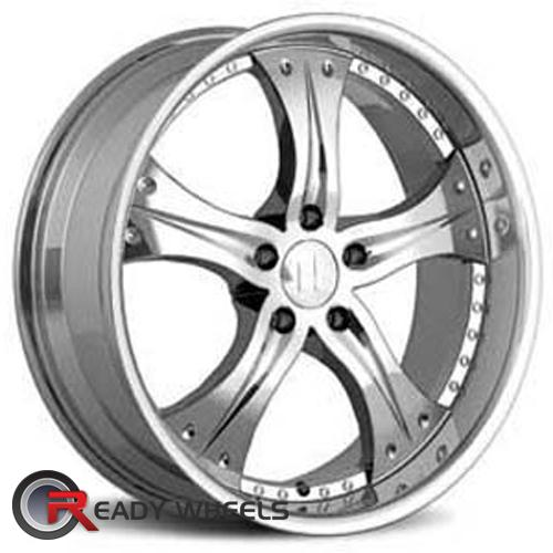 HELO He839 Chrome 5-Spoke 45 17 5x114 + Sunny SN380 205/40/17