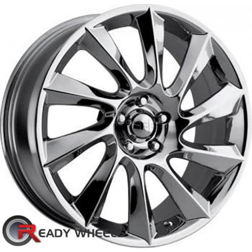HELO He841 Chrome 5-Spoke 42 18 5x114 + Delinte D7 225/40/18
