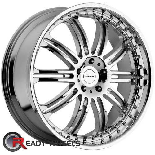 KMC Km127 Chrome Multi-Spoke 38 18 5x108