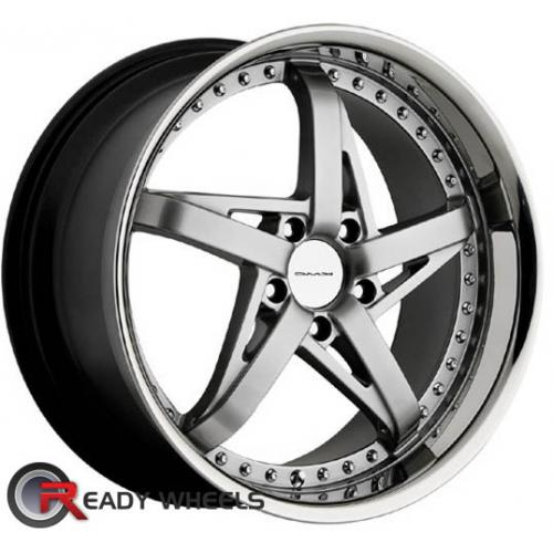 KMC Km187 Silver Gloss 5-Spoke 42 18 5x100