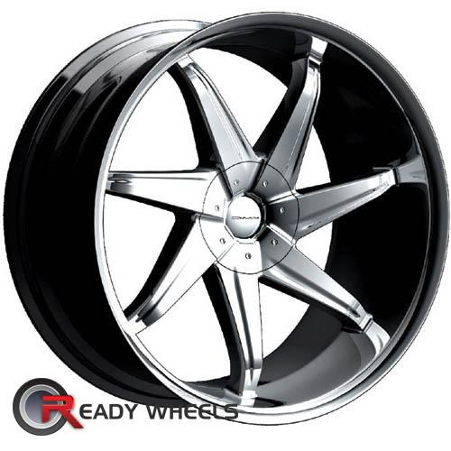 KMC Km188 Chrome 7-Spoke 38 18 5x114 + Delinte D7 225/40/18