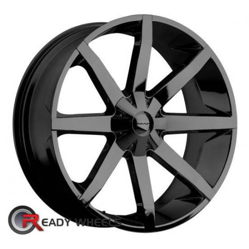 KMC Km651 Black Gloss 8-Spoke 38 20 5x139