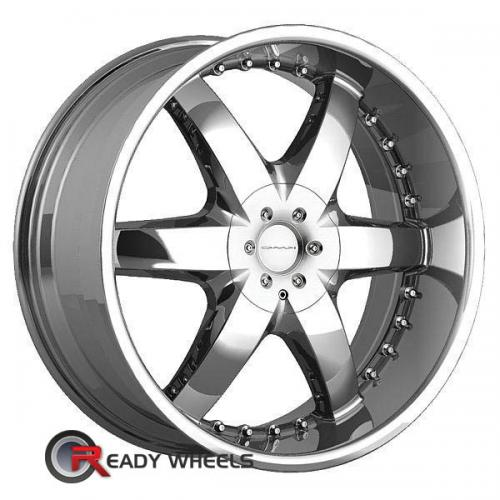 KMC Km652 Silver Gloss 6-Spoke 18 18 5x115
