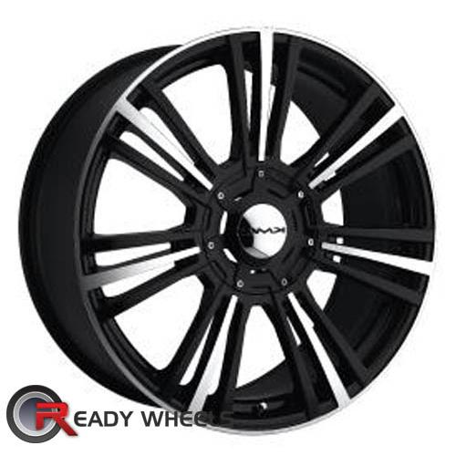KMC Km656 Black Gloss 7-Spoke 32 18 5x112
