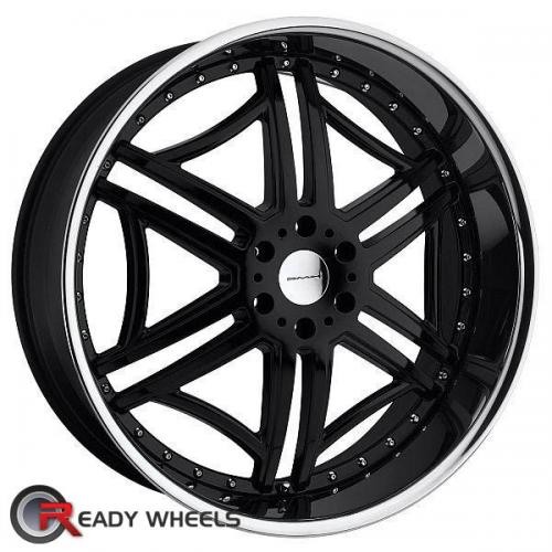 KMC Km657 Black Gloss 6-Spoke 10 20 5x120