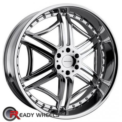 KMC Km657 Chrome 6-Spoke 10 20 5x120