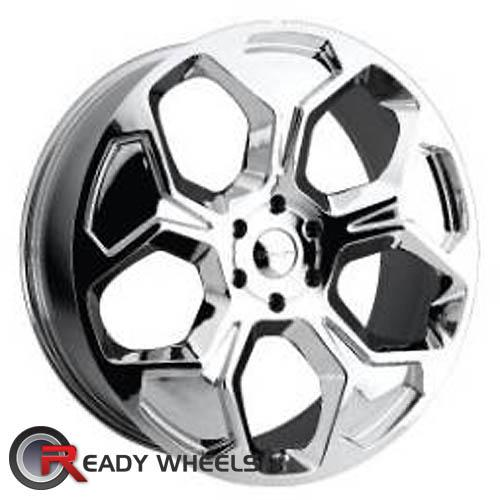 KMC Km659 Chrome 5-Spoke 35 22 6x139