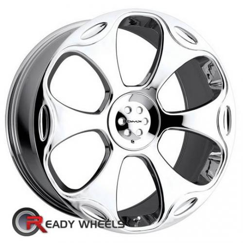 KMC Km660 Chrome 6-Spoke 18 22 5x115