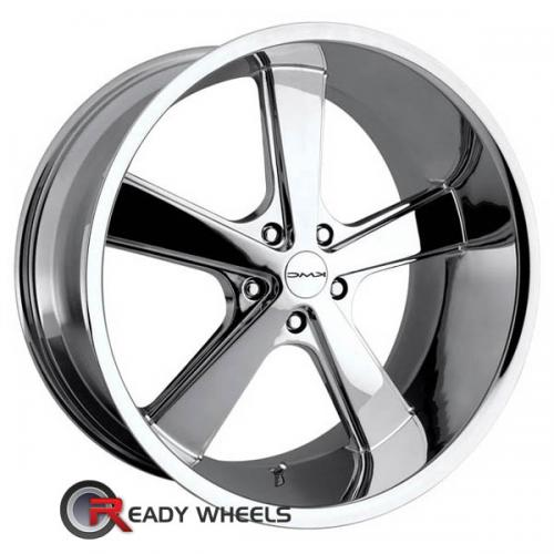 KMC Km701 Chrome 5-Spoke 20 5x114