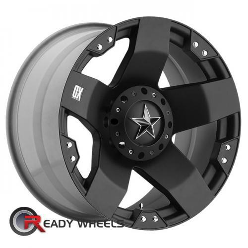 KMC XD Xd775 Black Flat 5-Spoke 111 16 8x165
