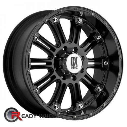 KMC XD Xd795 Black Gloss Multi-Spoke 16 5x114
