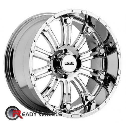 KMC XD Xd795 Chrome Multi-Spoke 18 18 5x114 + Delinte D7 225/40/18