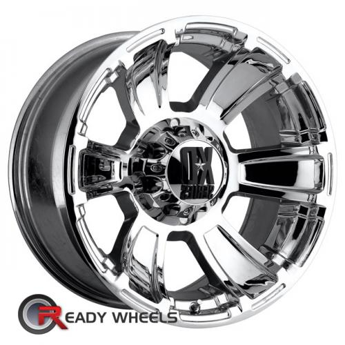 KMC XD Xd796 Chrome 6-Spoke -12 17 6x135 + Sunny SN380 205/40/17