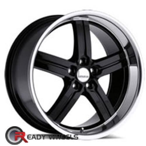 LUMARAI MORRO Black 5-spoke 17 5x114
