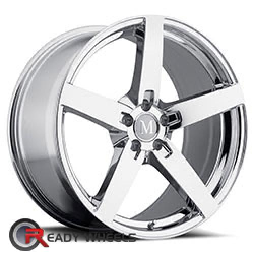 MANDRUS ARROW Chrome 5-Spoke 17 5x112