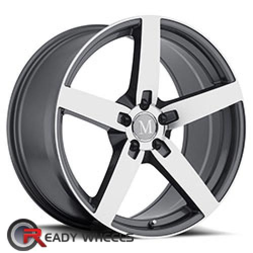 MANDRUS ARROW Gunmetal 5-Spoke 17 5x112