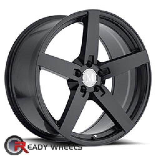 MANDRUS ARROW Matte Black 5-Spoke 17 5x112