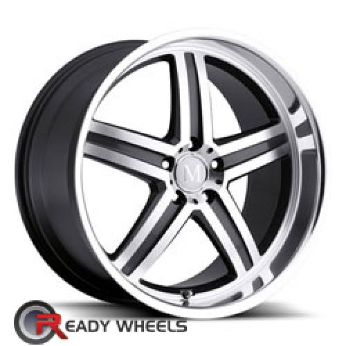 MANDRUS MANNHEIM Black 5-Spoke 17 5x112