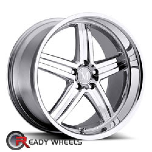MANDRUS MANNHEIM Chrome 5-Spoke 17 5x112