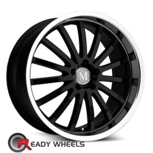 MANDRUS MILLENIUM Black Multi-spoke 17 5x112