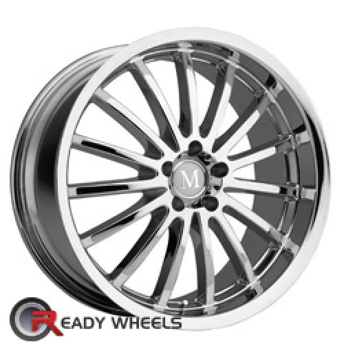 MANDRUS MILLENIUM Chrome Multi-spoke 17 5x112