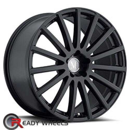 MANDRUS ROTEC Matte Black Multi-spoke 17 5x112