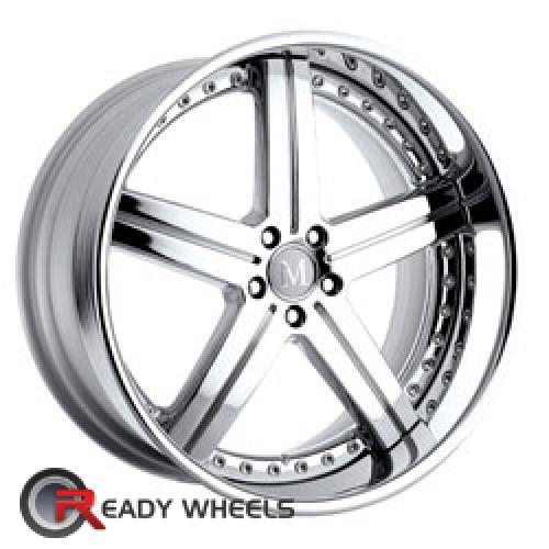 MANDRUS STUTTGART Chrome 5-spoke 19 5x112