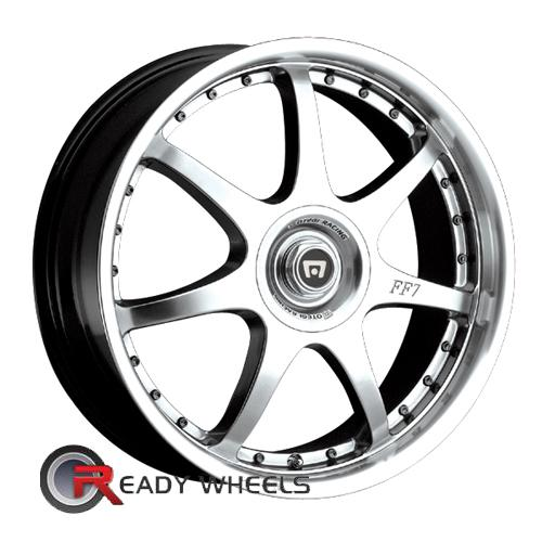 Motegi FF7 Silver W/Machined 7-Spoke 16 4x100