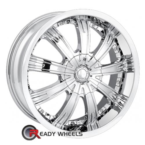 MPW MP108 Chrome Multi-Spoke 40 20 5x112
