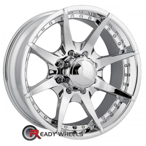 MPW MP201 Chrome 7-Spoke 22 8x170