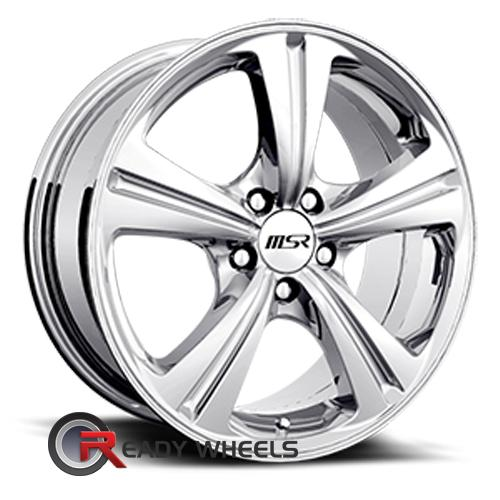 MSR 046 Polished 5-Spoke 16 4x100