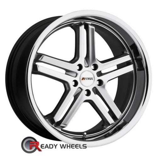 PETROL Reach Hypersilver 5-Spoke 20 18 5x112