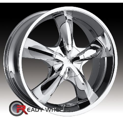 Polo Phoenix T989 Chrome 5-Spoke 20 5x108