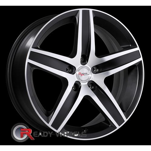 Racing Power T947A Black Flat Machine Face 5-Spoke 16 4x100