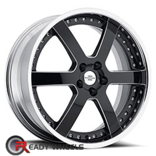 REDBOURNE KNIGHT Black 6-spoke 20 5x120