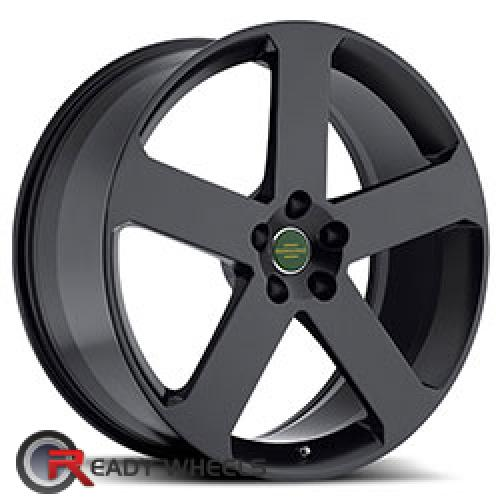 REDBOURNE NOTTINGHAM Matte Black 5-spoke 20 5x120 + Delinte D7 245/35/20