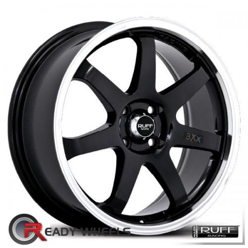 RUFF RACING R310 Black Gloss 7-Spoke 38 15 4x100