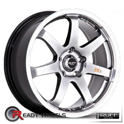RUFF RACING R310 Hyperblack 7-Spoke 38 15 4x100