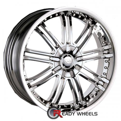 SACCHI S95 Chrome Multi-Spoke 35 18 5x108