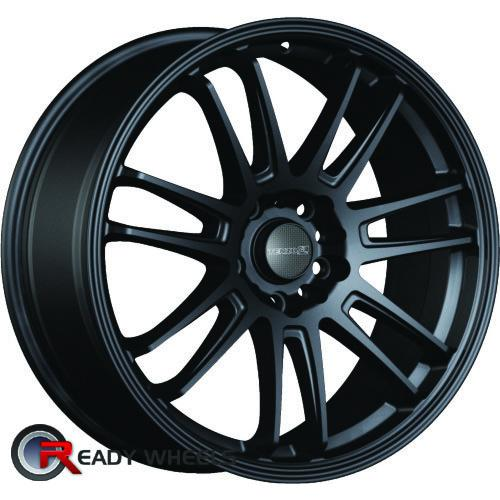 TENZO Project-7 V1 Black Flat 7-Spoke Split 42 17 4x100 + Sunny SN380 205/40/17