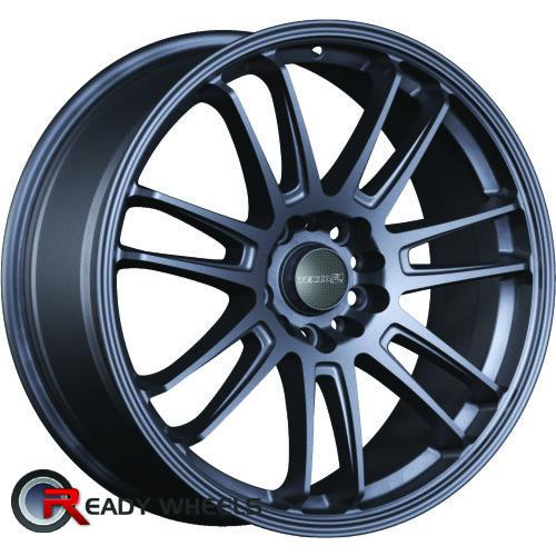 TENZO Project-7 V1 Gunmetal Flat 7-Spoke Split 25 18 5x100 + Delinte D7 225/40/18